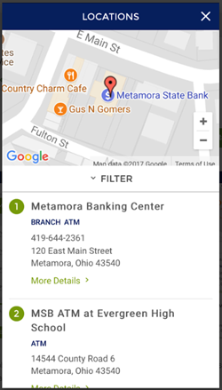 MSB Android Mobile App screenshot